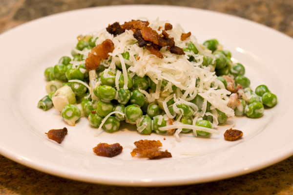 Paul's Green Pea Salad Recipe