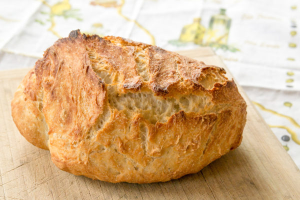 Easy Homemade Rustic Italian Bread Recipe
