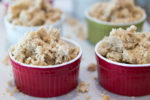 Strawberry Crisp Recipe - Topping ready to bake