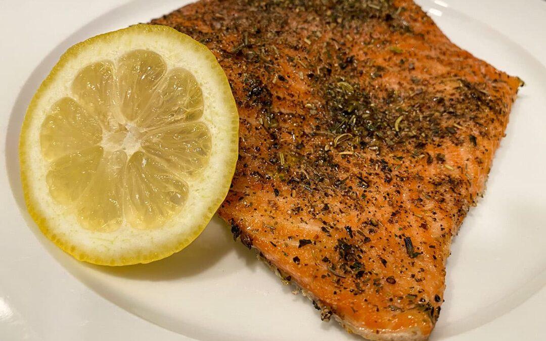Slow Baked Steelhead Trout or Salmon Recipe